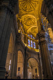 MALAGA, ANDALUCIA/SPAIN - MAY 25 : Interior View of the Cathedra Stock Photos