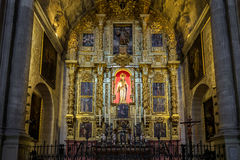 MALAGA, ANDALUCIA/SPAIN - MAY 25 : Interior View of the Cathedra Royalty Free Stock Images