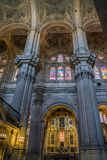 MALAGA, ANDALUCIA/SPAIN - MAY 25 : Interior View of the Cathedra Stock Photography
