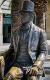 MALAGA, ANDALUCIA/SPAIN - MAY 25 : Statue of Danish Writer Hans Royalty Free Stock Photo