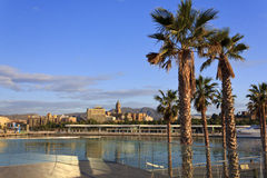 Malaga in Andalusia, Spain. Royalty Free Stock Image