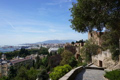 Malaga. In Andalusia from Spain Stock Photo