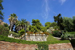 Malaga. In Andalusia from Spain Stock Photography
