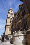 Malaga. In Andalusia from Spain Royalty Free Stock Photography