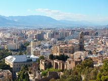 Malaga, Andalusia, Spain Stock Images