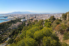 Malaga, Andalusia, Spain Royalty Free Stock Images