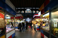 Malaga, Atarazanas covered market Stock Photos