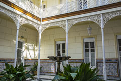Malaga Botanical Gardens Stock Image