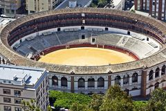 Malaga Bullring Royalty Free Stock Images