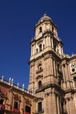 Malaga Cathedral Stock Photography