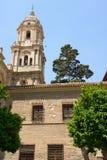 Malaga cathedral Royalty Free Stock Photography