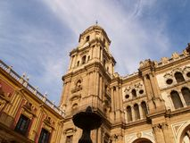 Malaga - Cathedral Royalty Free Stock Photo