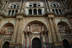 Malaga Cathedral Royalty Free Stock Photography