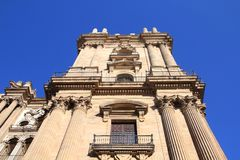 Malaga Cathedral Royalty Free Stock Photo