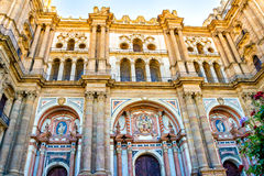 Malaga Cathedral Royalty Free Stock Photos