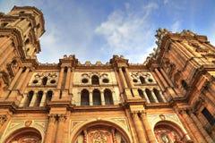 Malaga Cathedral Basílica de la Encarnacion. In historic center Royalty Free Stock Image
