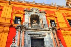 Malaga Cathedral Basílica de la Encarnacion. In historic center Stock Photo