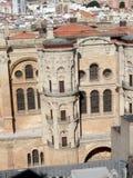 Malaga Cathedral Royalty Free Stock Photo
