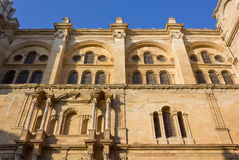 Malaga Cathedral Royalty Free Stock Images