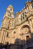 Malaga Cathedral Royalty Free Stock Image