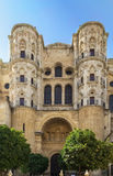 Malaga Cathedral, Spain. The Cathedral of Malaga is a Renaissance church in the city of Malaga in Andalusia in southern Spain.It was constructed between 1528 and Stock Images