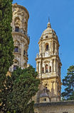 Malaga Cathedral, Spain Royalty Free Stock Image