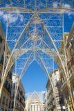 Malaga christmas lights Stock Image