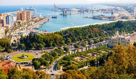 Free Malaga City And Port Stock Photos - 117212503