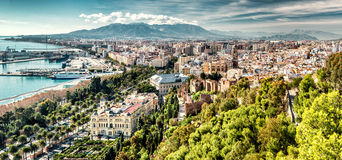 Malaga city. Andalusia, Spain Royalty Free Stock Photography