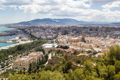 Malaga city. Andalusia, Spain Stock Photo