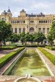 Malaga city hall, Spain Stock Image