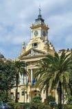 Malaga city hall, Spain Royalty Free Stock Photography
