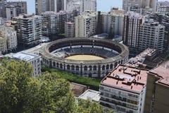Malaga city, Malaga Province, Andalusia, Spain Stock Photography