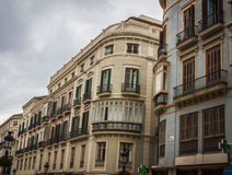 Malaga city Stock Images