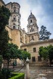 Malaga city Royalty Free Stock Image