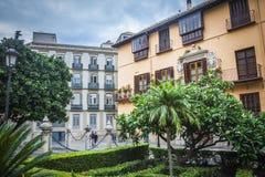 Malaga city Royalty Free Stock Photo