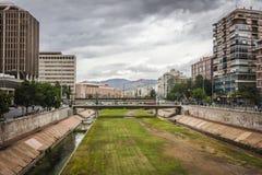 Malaga city Stock Photography