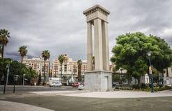 Malaga city Stock Photos