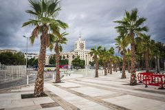 Malaga city Royalty Free Stock Photo