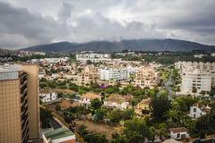 Malaga city,Spain Stock Images