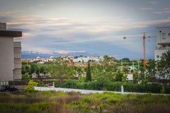 Malaga city,Spain Royalty Free Stock Photo