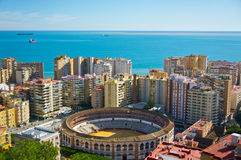 Malaga city, Spain Royalty Free Stock Photography