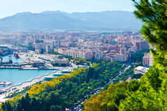 Malaga city, Spain Stock Photo