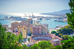 Malaga city, Spain Royalty Free Stock Photo