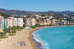 Malaga city, Spain. Beautiful view of Malaga city, Spain Stock Photography