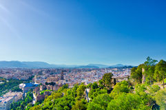 Malaga city, Spain Stock Photos
