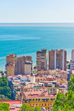 Malaga city, Spain Stock Image