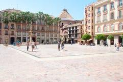 Malaga city, Spain Stock Photography