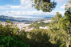 Malaga cityscape Royalty Free Stock Image