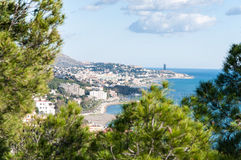 Malaga cityscape Stock Photo
